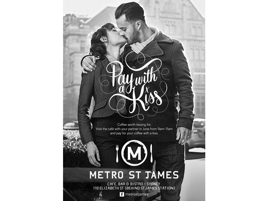 Metro-St-James-pay-with-a-kiss